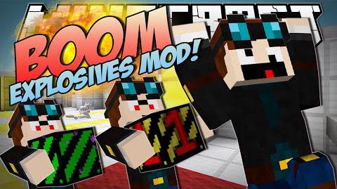 Мод Boom Plus Minecraft