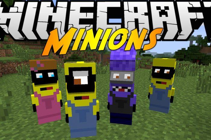 Мод Minions Mod Minecraft