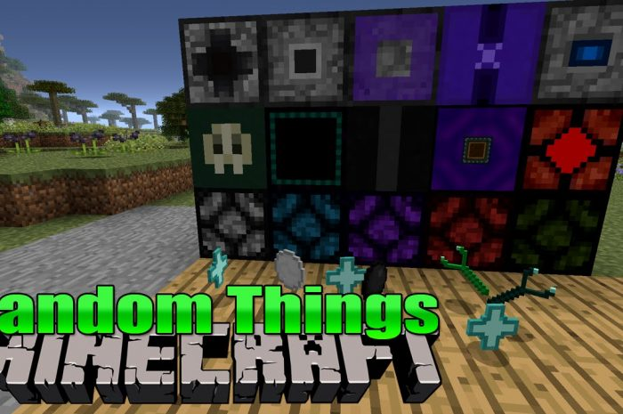 Мод Random Things Minecraft
