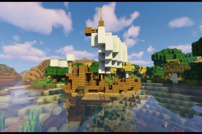 Мод Small Boats Minecraft