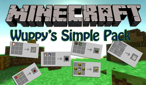 Мод Wuppy's Simple Pack Minecraft