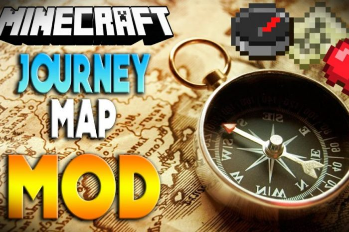 Мод JourneyMap Minecraft
