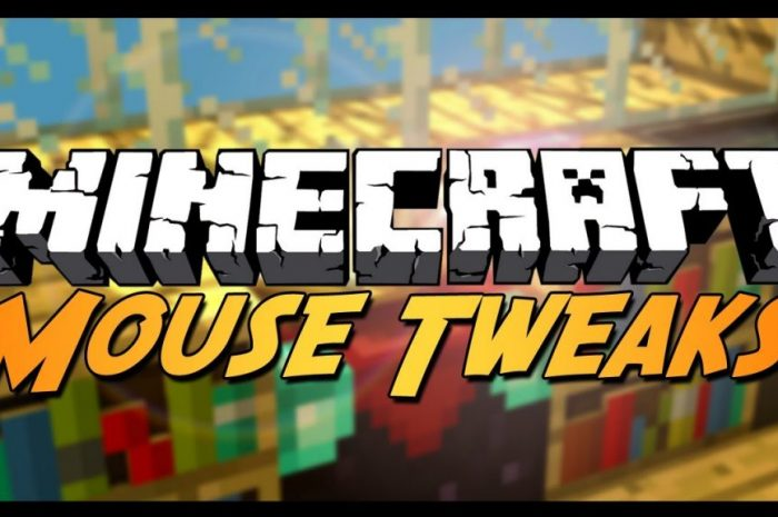 Мод Mouse Tweaks Minecraft