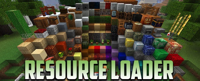 Мод Resource Loader Minecraft