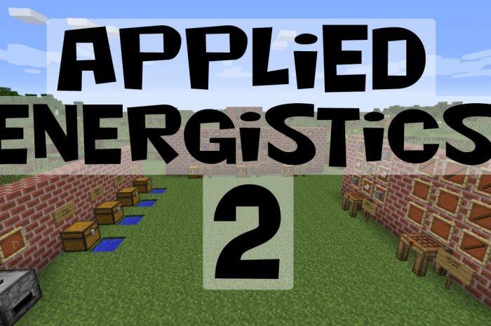 Мод Applied Energistics 2 Minecraft