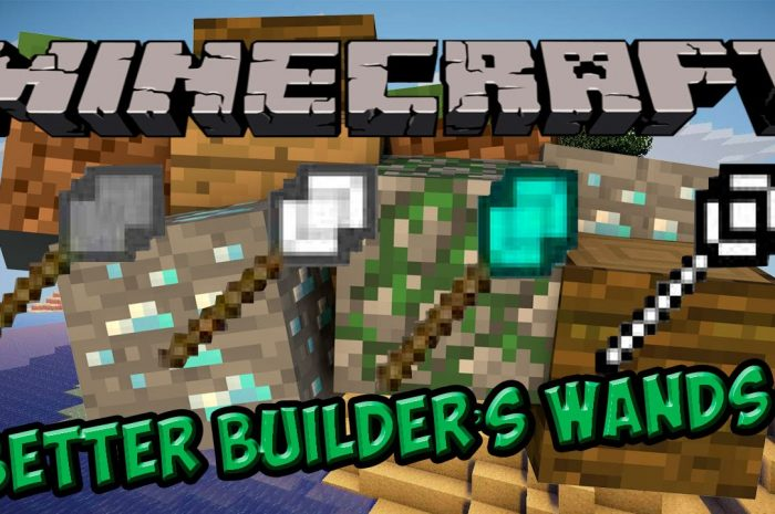 Мод Better Builder's Wands Minecraft