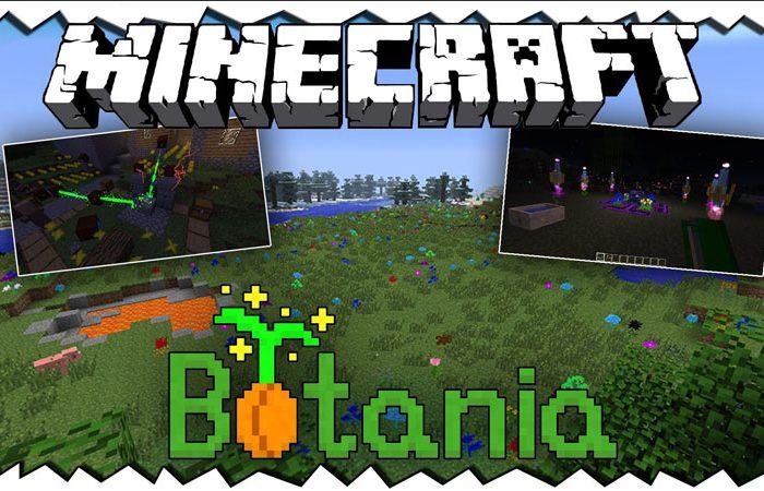 Мод Botania Minecraft