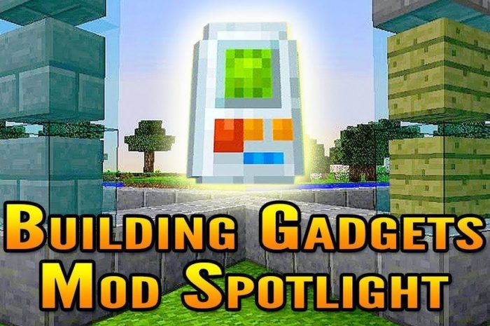 Мод Building Gadgets Minecraft