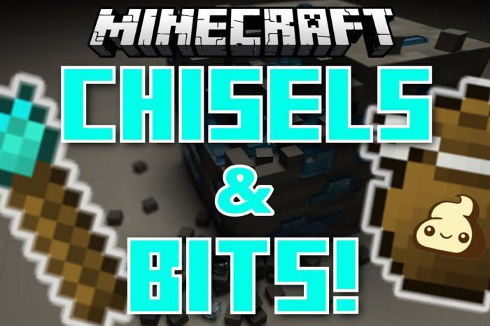 Мод Chisels & Bits Minecraft