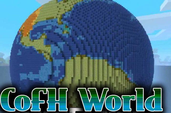 Мод CoFH World Minecraft