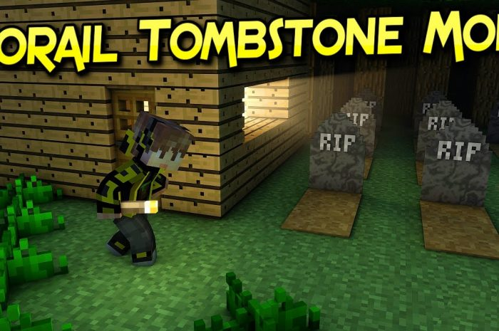 Мод Corail Tombstone Minecraft