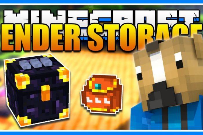 Мод Ender Storage Minecraft