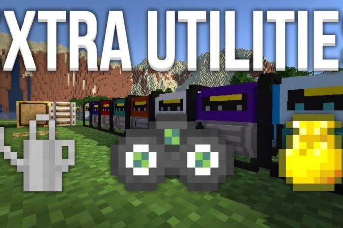 Мод Extra Utilities Minecraft