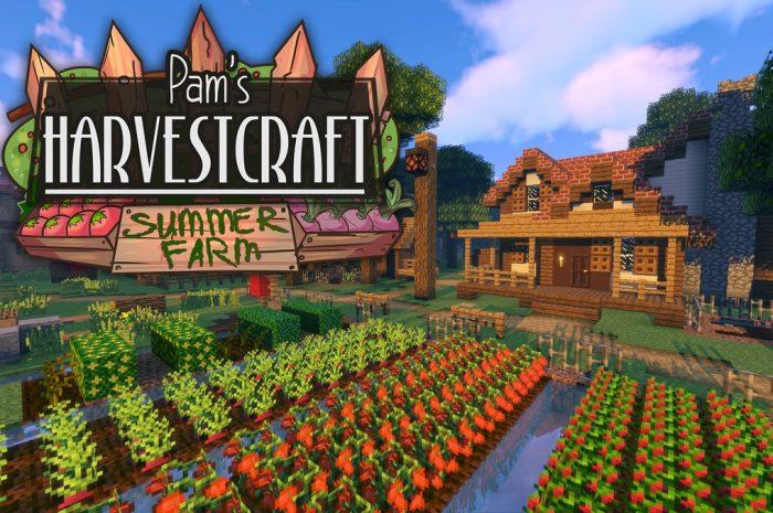 Мод Pam's HarvestCraft Minecraft