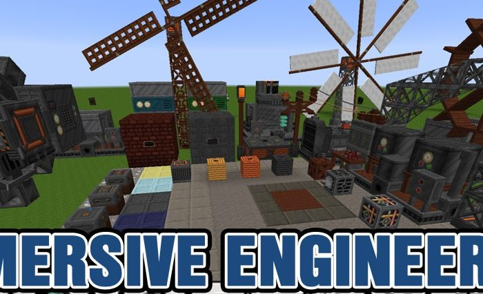 Мод Immersive Engineering Minecraft