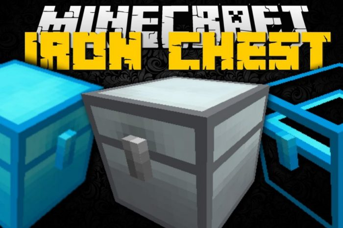 Мод Iron Chests Minecraft
