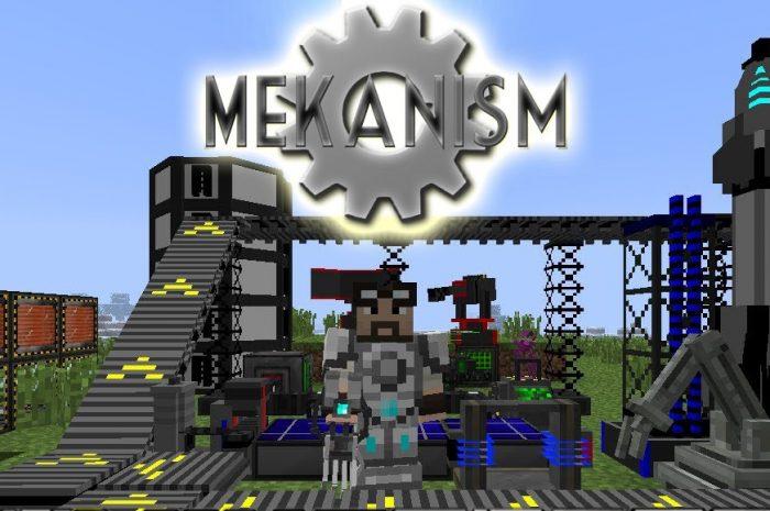 Мод Mekanism Minecraft