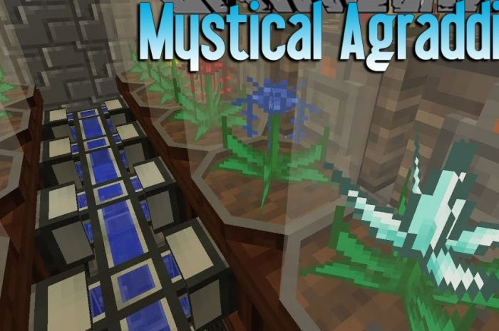 Мод Mystical Agradditions Minecraft