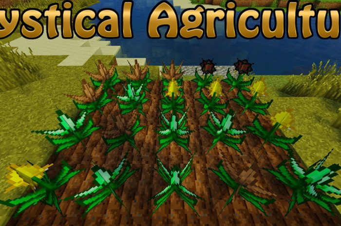 Мод Mystical Agriculture Minecraft
