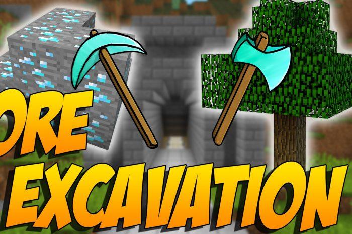 Мод Ore Excavation Minecraft