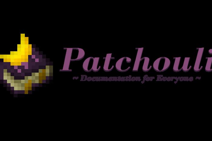 Мод Patchouli Minecraft