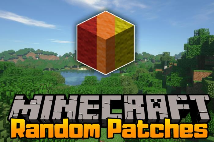 Мод RandomPatches Minecraft