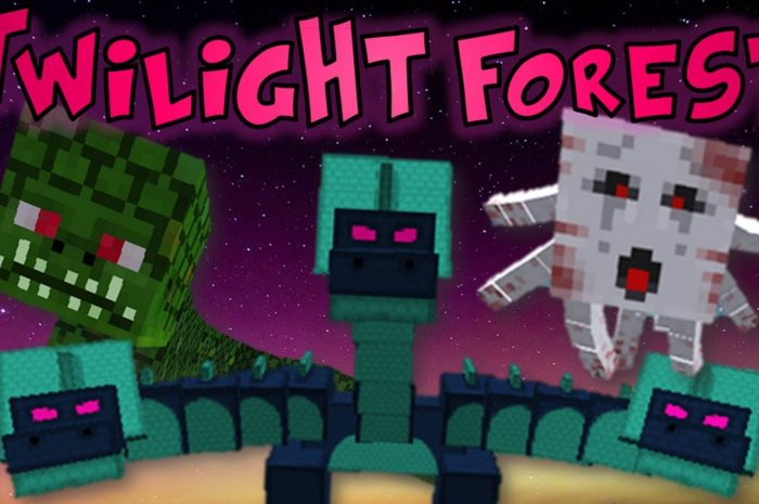 Мод The Twilight Forest Minecraft