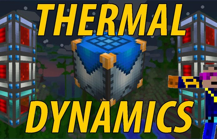Мод Thermal Dynamics Minecraft