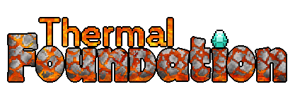 Мод Thermal Foundation Minecraft