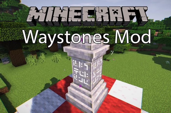 Мод Waystones Minecraft