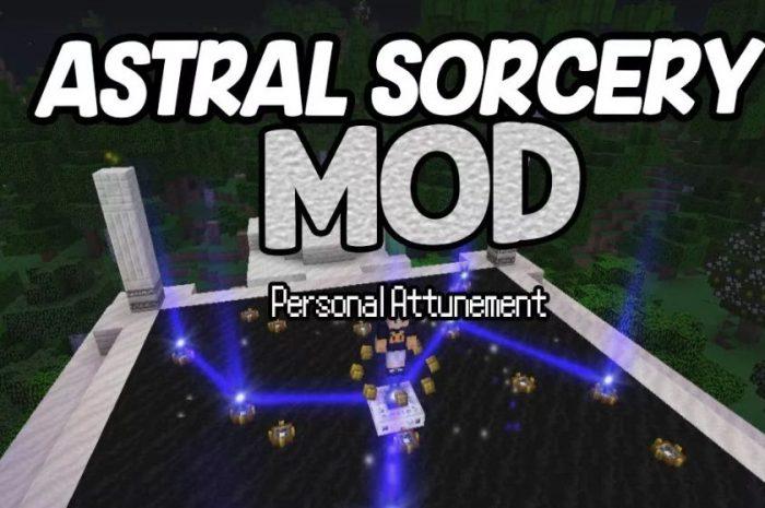 Мод Astral Sorcery Minecraft