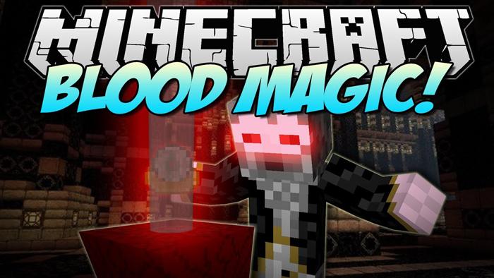 Мод Blood Magic Minecraft