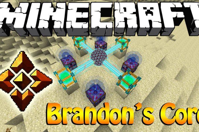 Мод Brandon's Core Minecraft