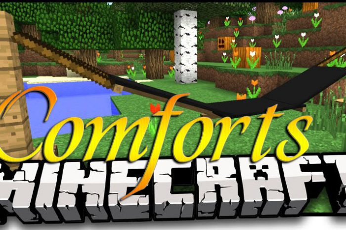Мод Comforts Minecraft