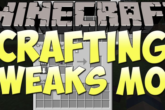 Мод Crafting Tweaks Minecraft
