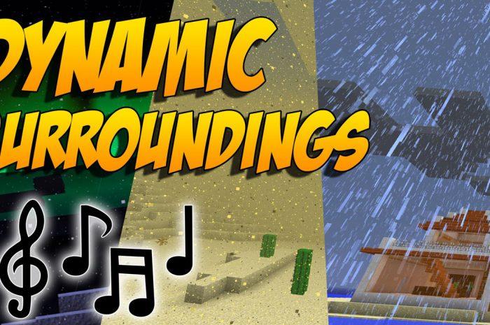 Мод Dynamic Surroundings Minecraft