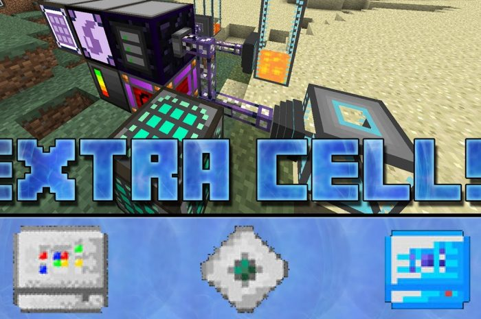Мод ExtraCells2 Minecraft