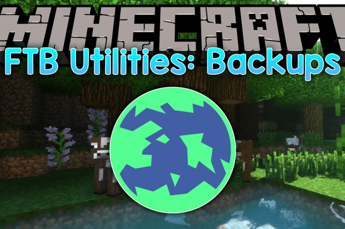 Мод FTB Utilities: Backups Minecraft