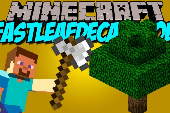 Мод FastLeafDecay Minecraft