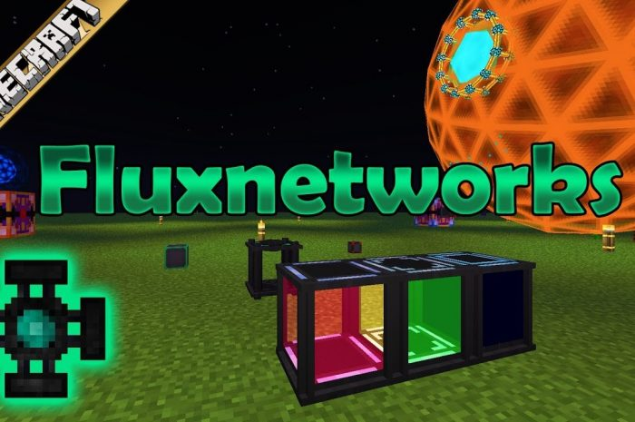 Мод Flux Networks Minecraft
