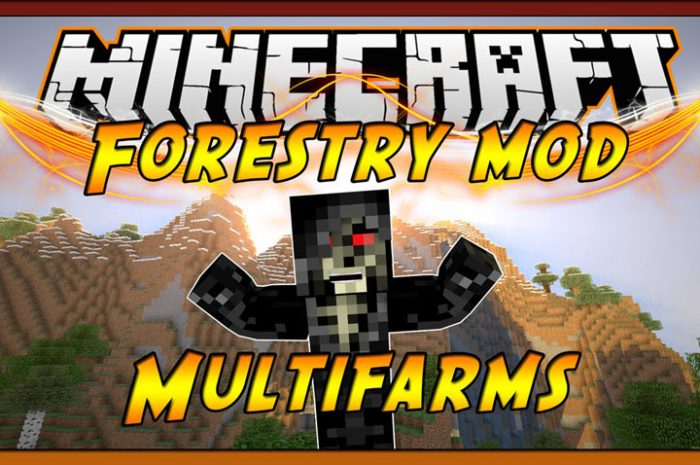 Мод Forestry Minecraft