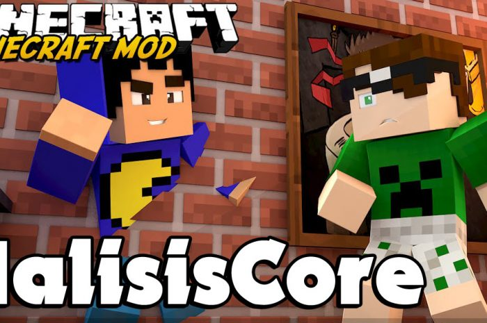 Мод MalisisCore Minecraft