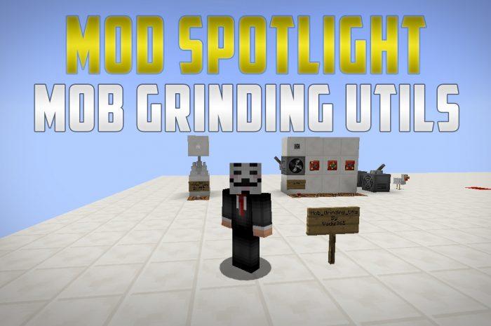 Мод Mob Grinding Utils Minecraft