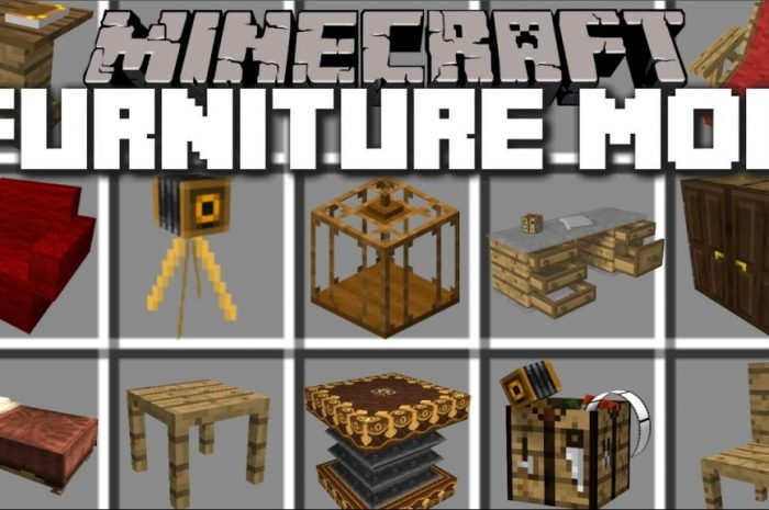Мод MrCrayfish's Furniture Minecraft