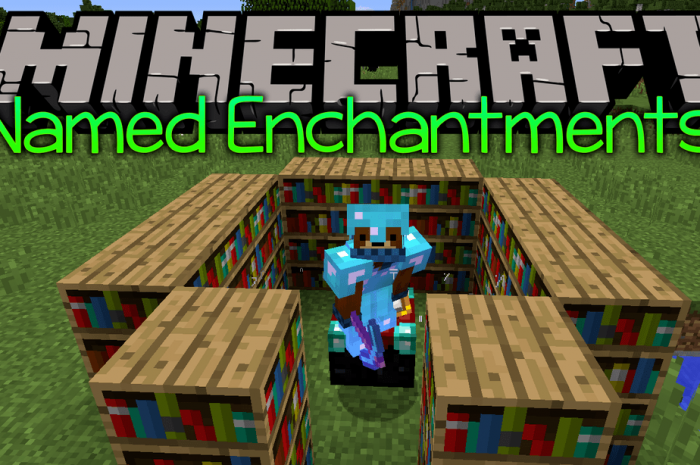 Мод Enchantment Descriptions Minecraft