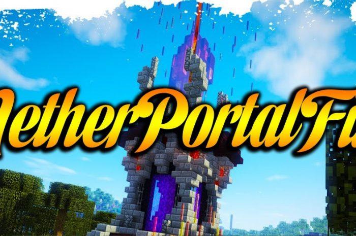 Мод NetherPortalFix Minecraft