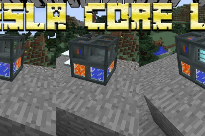 Мод Tesla Core Lib Minecraft