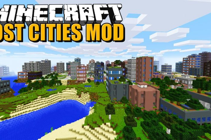 Мод The Lost Cities Minecraft