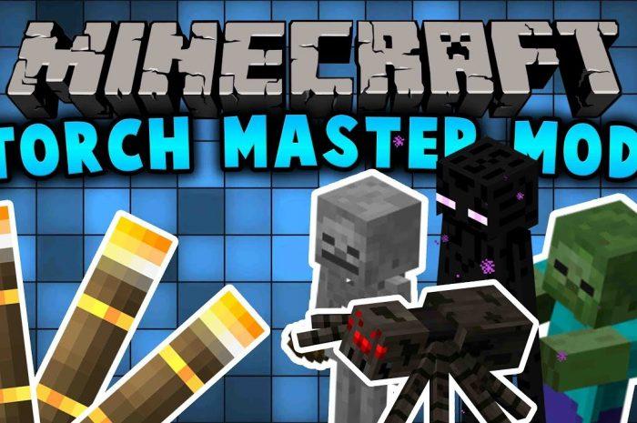Мод Torchmaster Minecraft