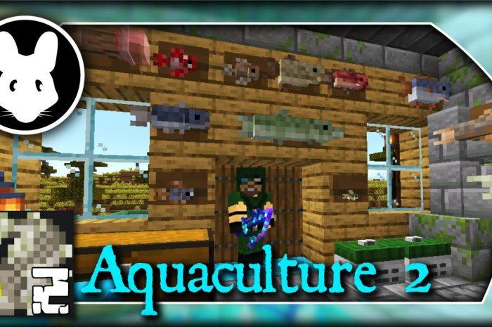 Мод Aquaculture 2 Minecraft